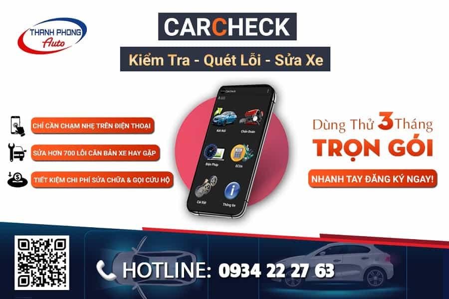 CARCHECK - Ứng Dụng Quét Lỗi và Sửa Xe Ô Tô Thông Minh 3 Thanh Phong Auto HCM