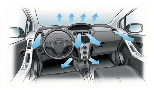 Car air conditioner does not come out