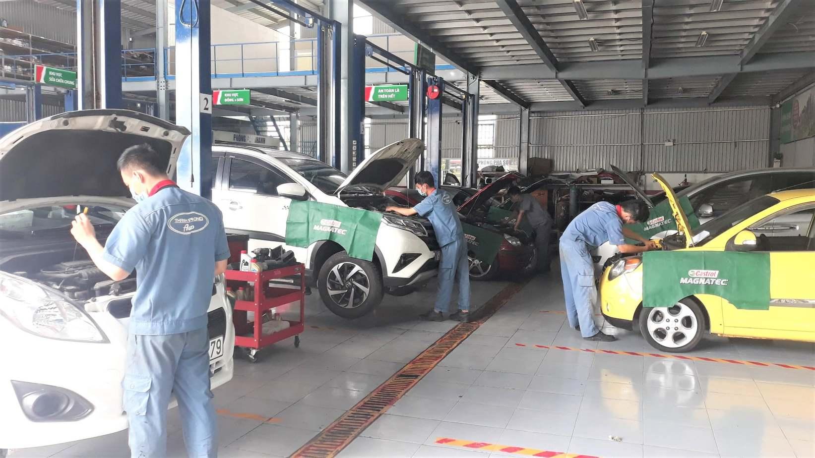 học nghề sửa chữa hệ thống phun xăng điện tử