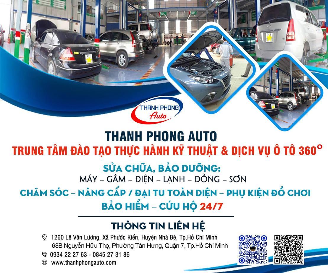 Trung Tâm Đào Tạo Kỹ Thuật Ô Tô - Thanh Phong Auto