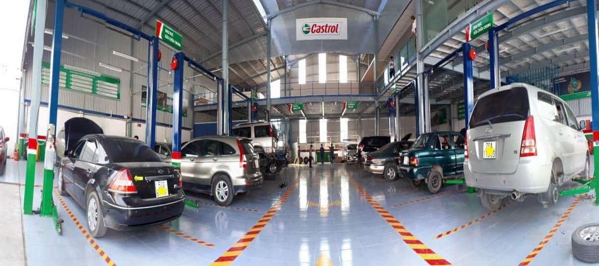gara sửa chữa bảo dưỡng ô tô chuyên nghiệp quận 4