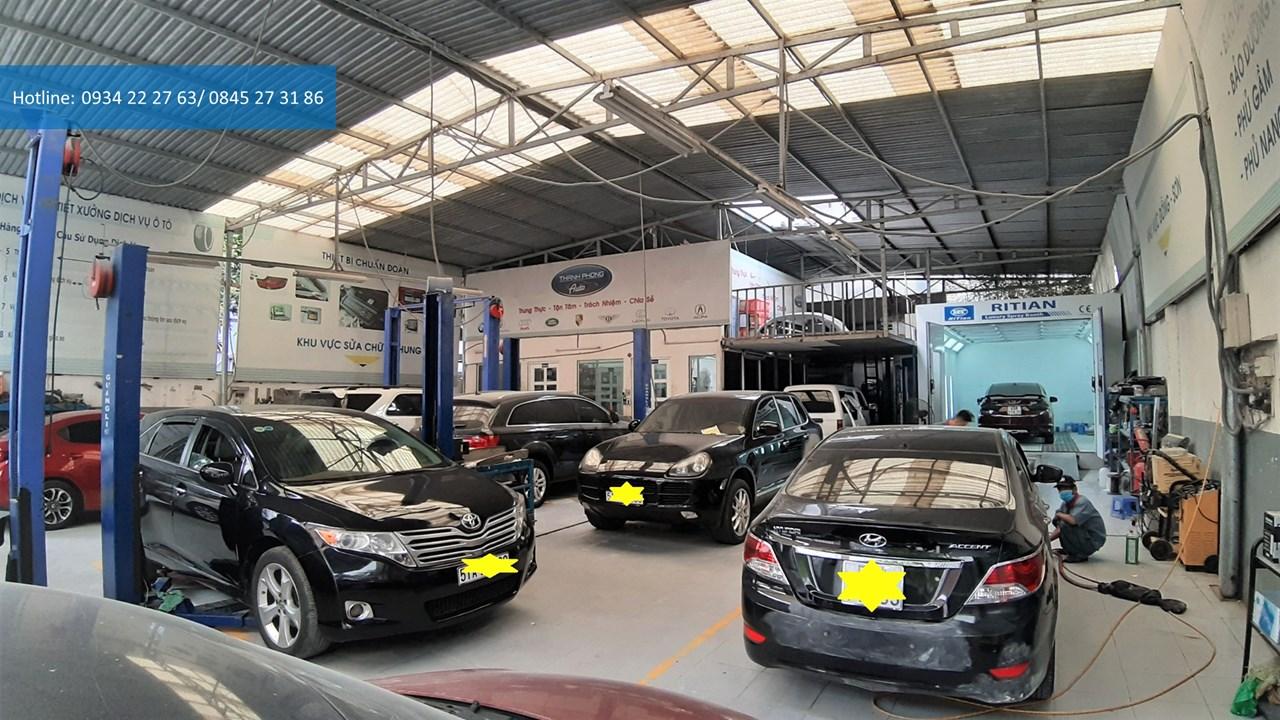List of prestigious car repair addresses in District 9
