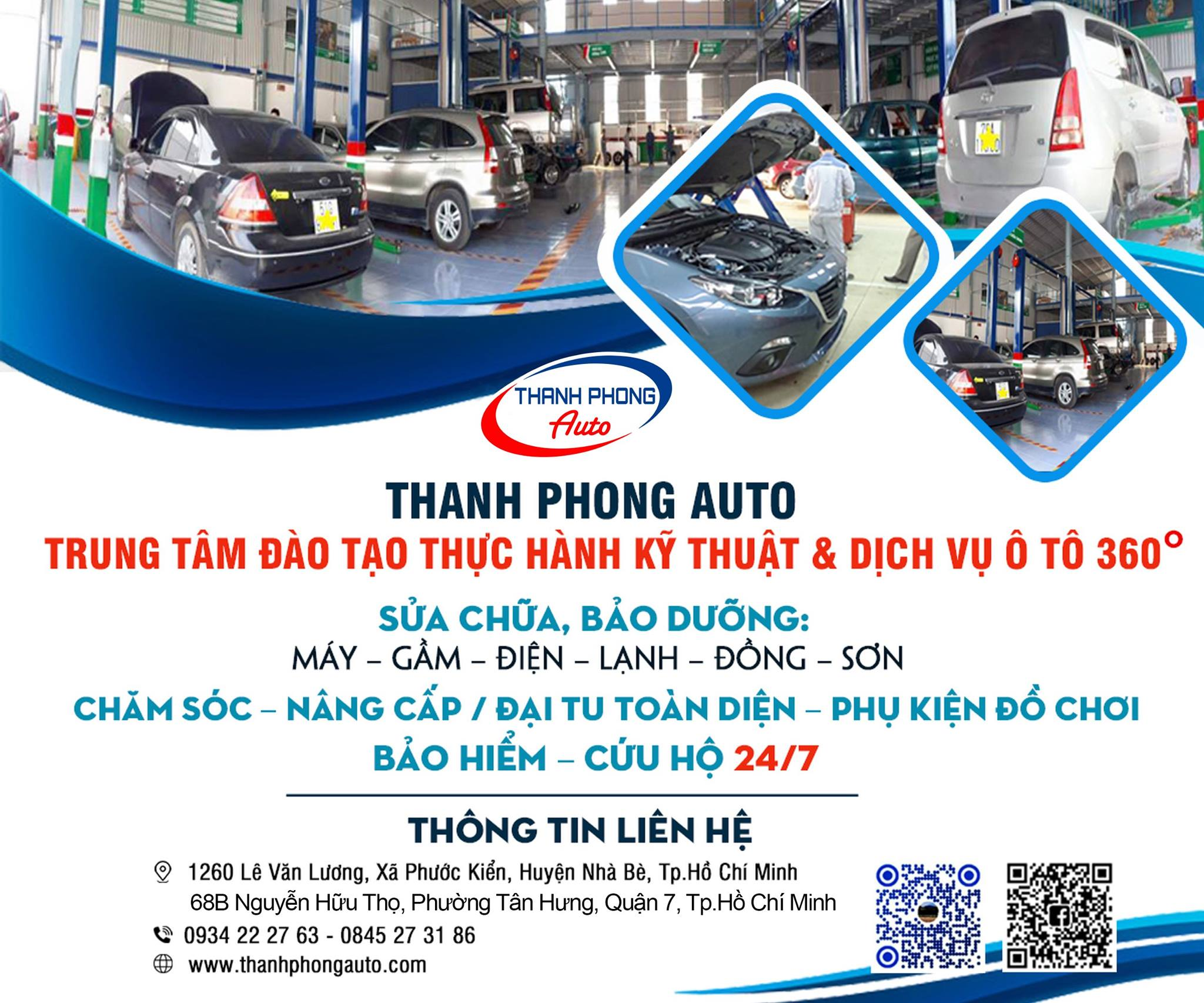 Top 12 Auto Repair and Maintenance Garages in District 6 2 Thanh Phong Auto HCM