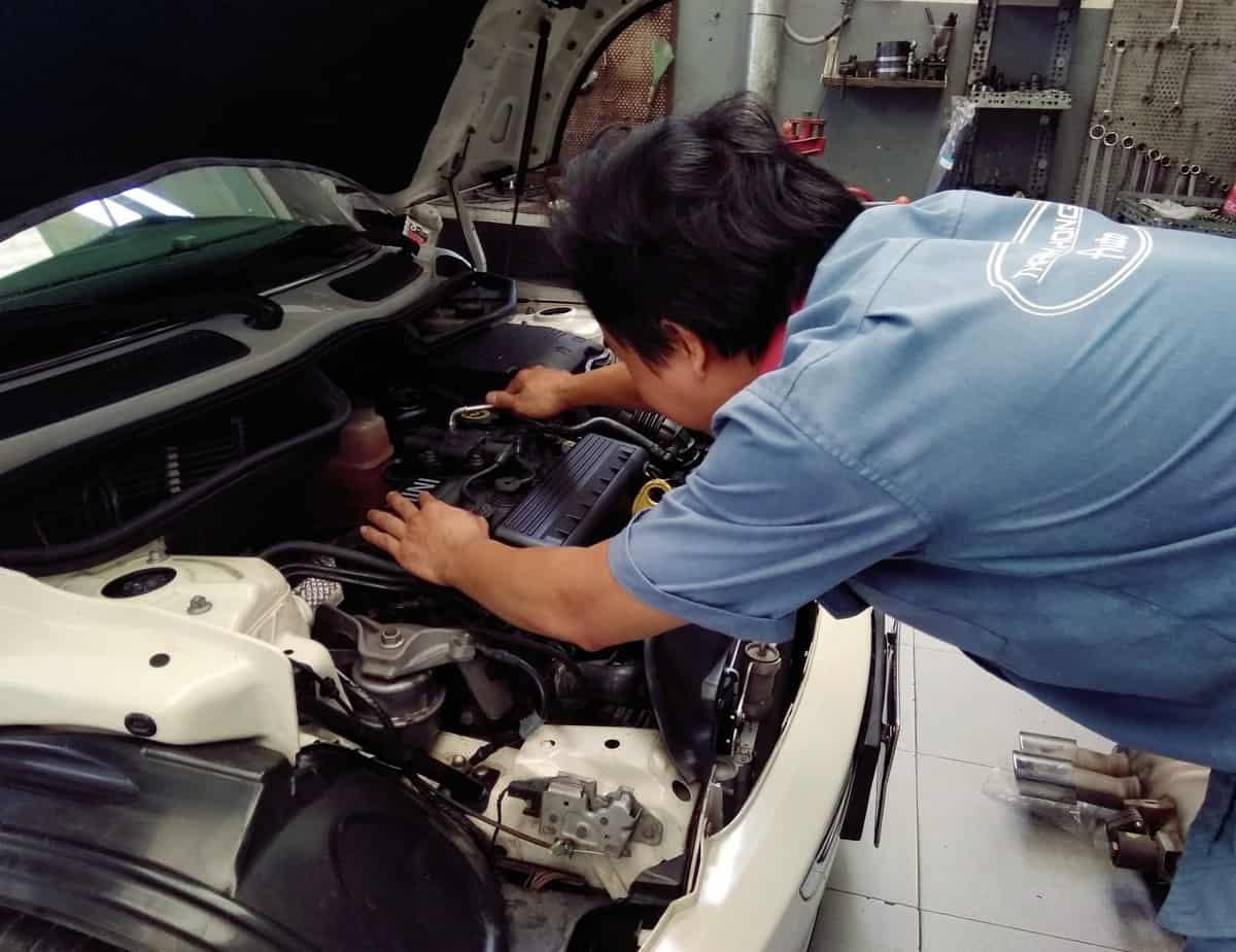gara sửa chữa bảo dưỡng ô tô tốt nhất quận 11