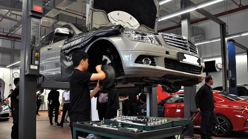 địa chỉ sửa chữa ô tô uy tín tại Tân Phú HCM